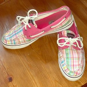 Sperry's!! Size 8! Cute and colorful!